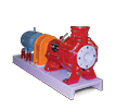 CHEM-GARD OEM Thermoplastic Horizontal Centrifugal Pumps Engineered for OEM applications