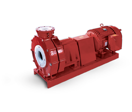 Vanton CHEM-GARD Thermoplastic Horizontal Centrifugal Pump Eliminates Corrosion, Contamination