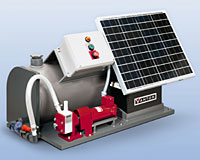 solar powered flex-i-liner pump